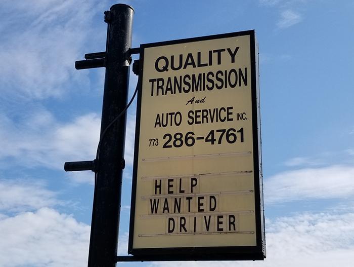 quaility-sign